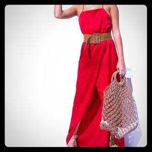 NWT Sabo Skirt Red Slip Dress